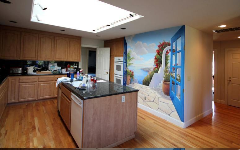 ve tranh tuong phong khach, cách trang trí phòng khách theo phong thủy đẹp